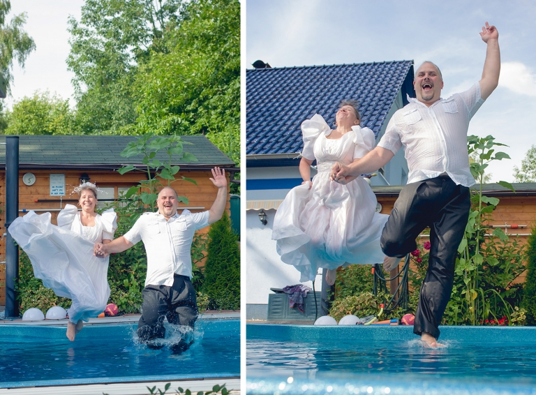 FotoBar - Paarshooting mit Trash the Dress in Woltersdorf